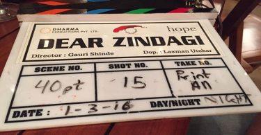 Shahrukh Khan and Alia Bhatt's romantic drama titled Dear Zindagi