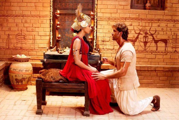 Mohenjo Daro Still - Hrithik Roshan, Pooja Hegde