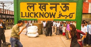 Akshay Kumar shooting with Huma Qureshi at Lucknow station for Jolly LLB 2
