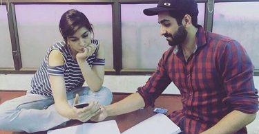 Kriti Sanon and Ayushmann Khurrana for Bareilly Ki Barfi