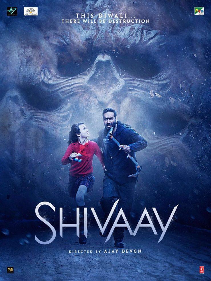 Shivaay New Posters