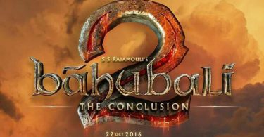 Baahubali 2 The Conclusion Logo Poster
