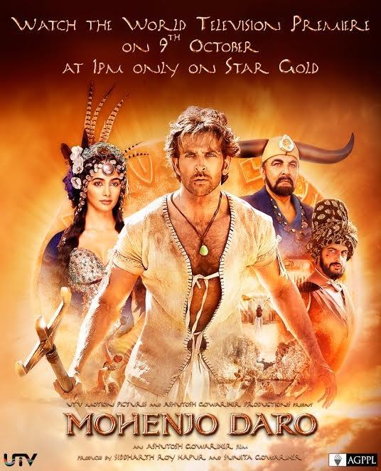 Mohenjo Daro TV Premiere
