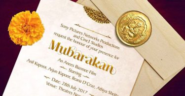 Mubarakan First Look Invitation