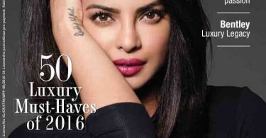 Priyanka Chopra on The Man Magazine Cover