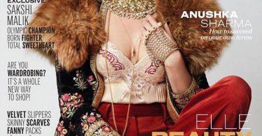 Anushka Sharma on Elle Magazine Cover