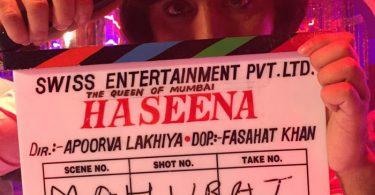 First day shoot for Haseena - Shraddha Kapoor