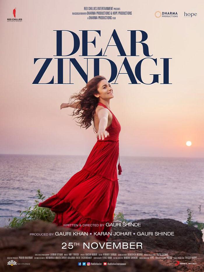 DEAR ZINDAGI (2016) con ALIA BHATT + Jukebox + Sub. Español +  Online Dear-Zindagi-New-Poster