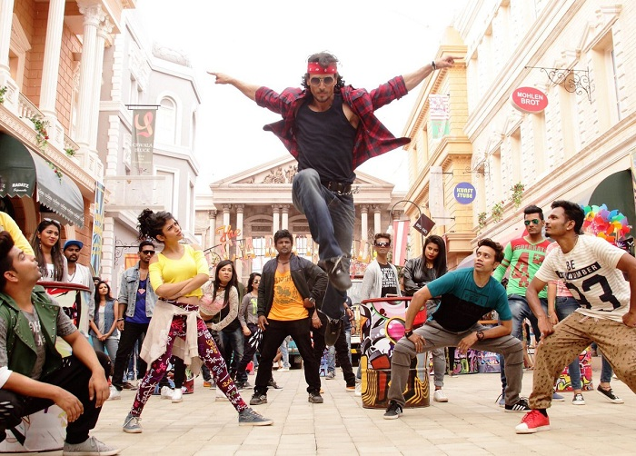 Tiger Shroff in Ding Dang Song Still - Munna Michael