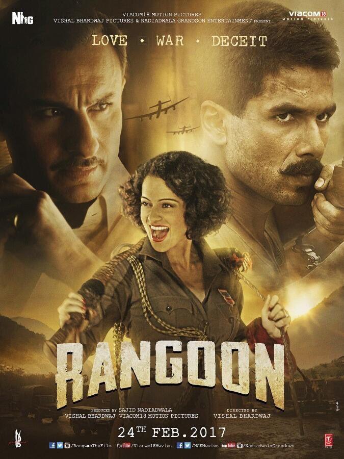 Kangana Ranaut Rangoon