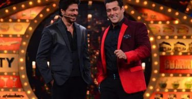 SRK, Salman Khan on the set Bigg Boss 10