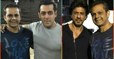 Salman Khan and Shahrukh Khan Tubelight on location
