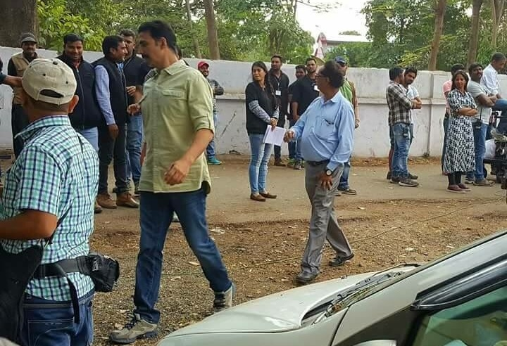 Akshay Kumar Toilet Ek Prem Katha on location