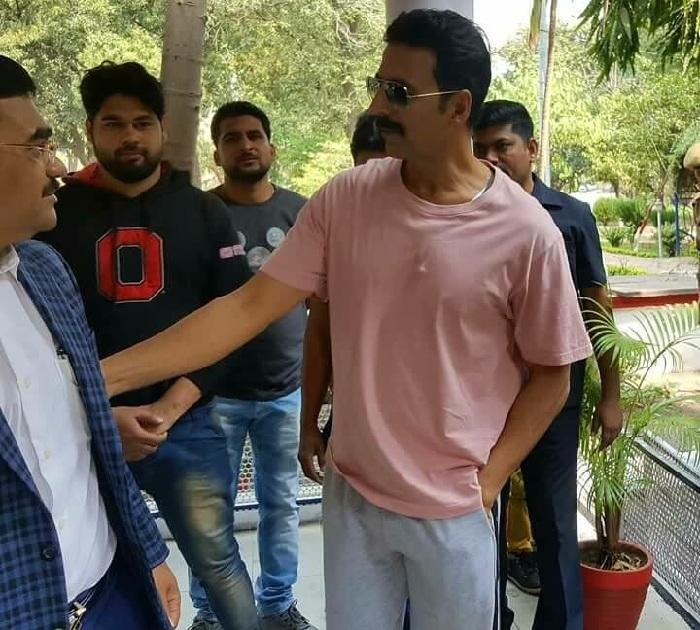 Akshay Kumar shoot for Toilet Ek Prem Katha in Bhopal
