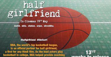 Half Girlfriend Teaser Poster