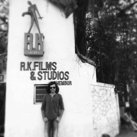 Imtiaz Ali shot for The Ring in Raj Kapoor's studio