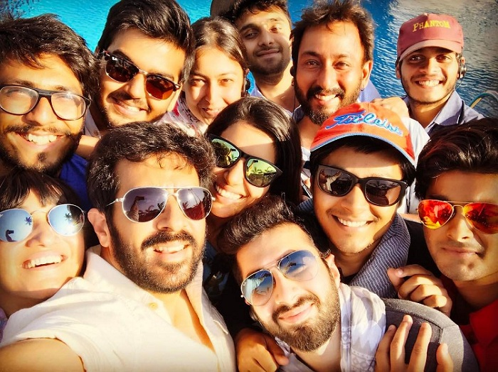 Kabir Khan with Tubelight Team