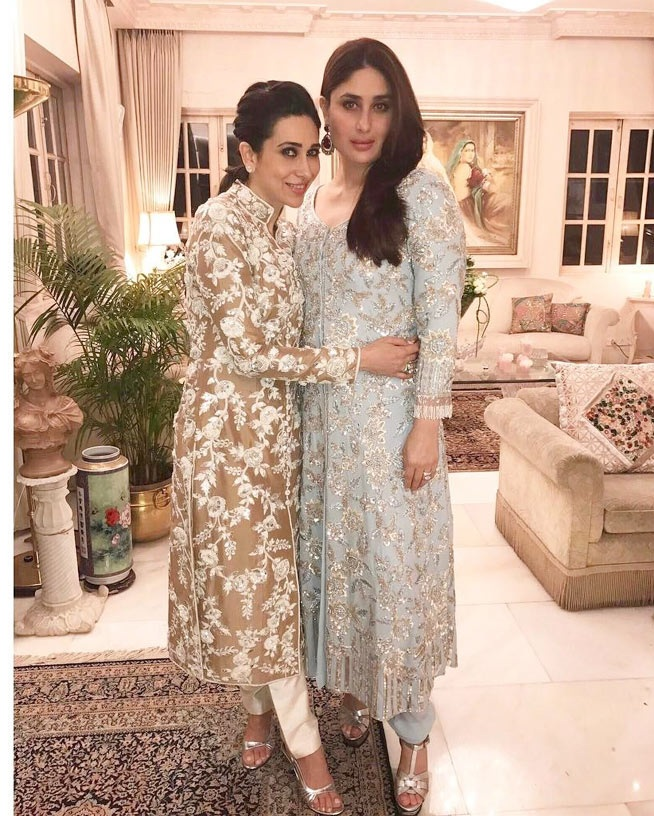 Kareena, Karisma at Randhir's birthday