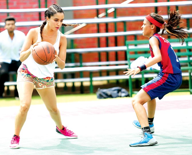 Shraddha Kapoor basketball player for Half Girlfriend