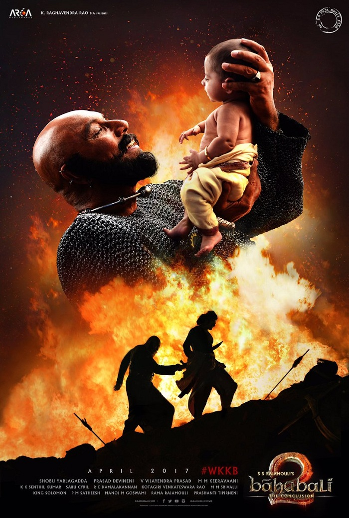 Baahubali 2 The Conclusion New Poster