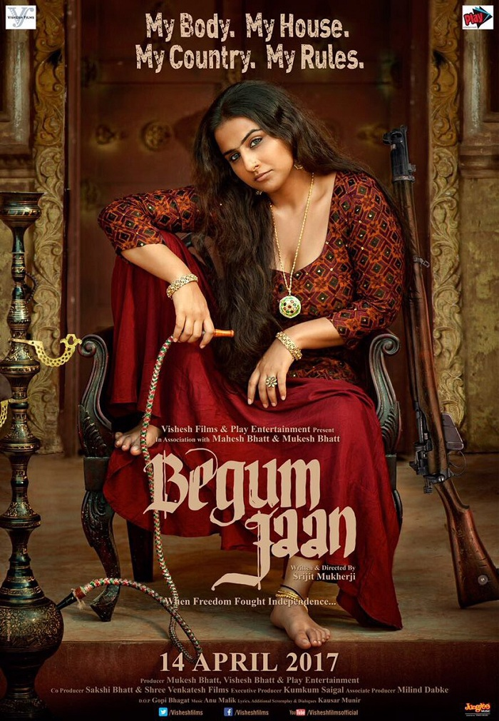 Begum Jaan First Look - Vidya Balan