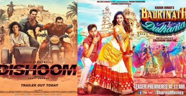 Dishoom vs Badrinath Ki Dulhania