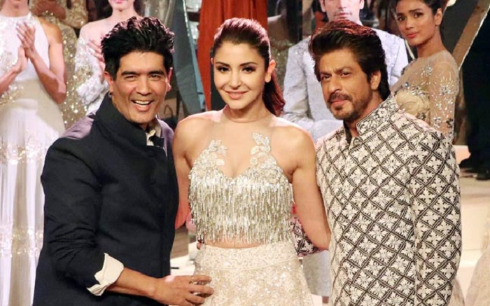 SRK and Anushka Sharma walk for Manish Malhotra at the Mijwan 2017 fashion show