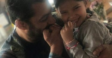 Salman Khan with his bodyguard Peter Kumar's Daughter