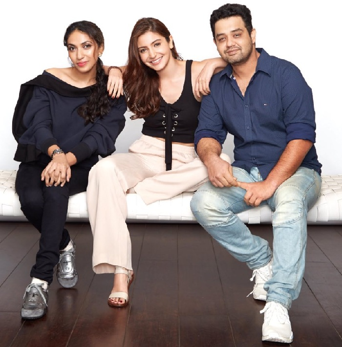 Anushka Sharma and her brother Karnesh commence new film