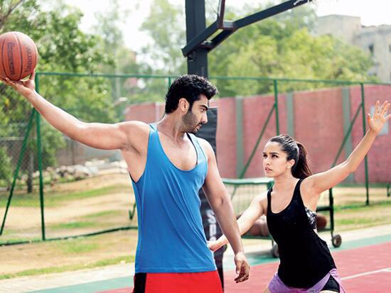 Arjun Kapoor, Shraddha Kapoor Still from Movie Half Girlfriend