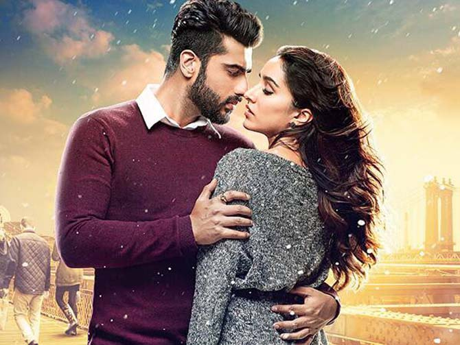 Arjun Kapoor, Shraddha Kapoor in Half Girlfriend