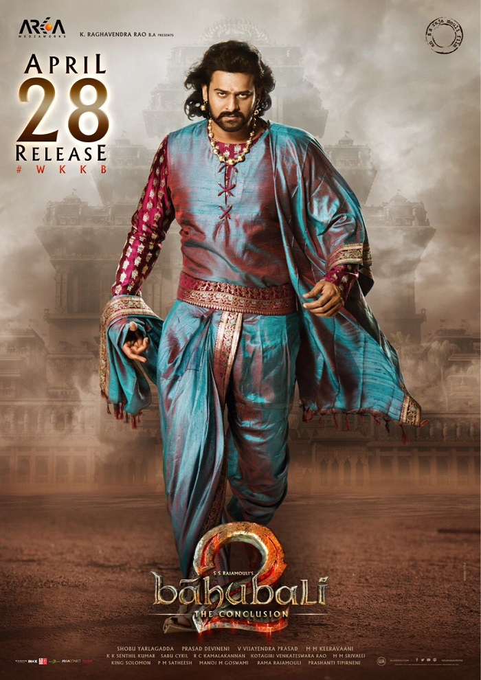 Baahubali 2 Royal Posters Two Days Before Release