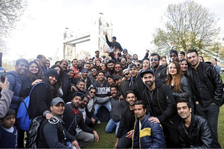 It's a wrap for 'Mubarakan' family in London