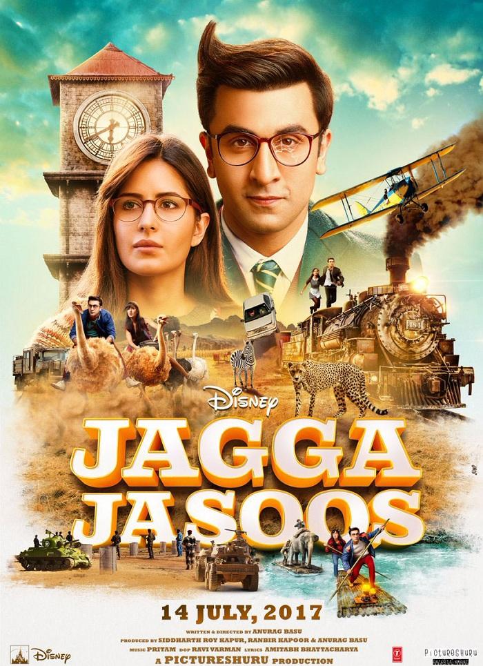 Jagga Jasoos New Poster - Ranbir Kapoor, Katrina Kaif