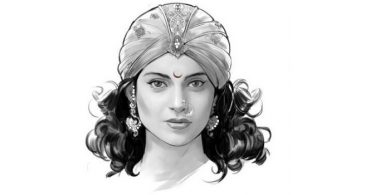 Kangana's first look as Rani Laxmibai