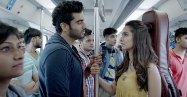 Thodi Der Song still - Half Girlfriend