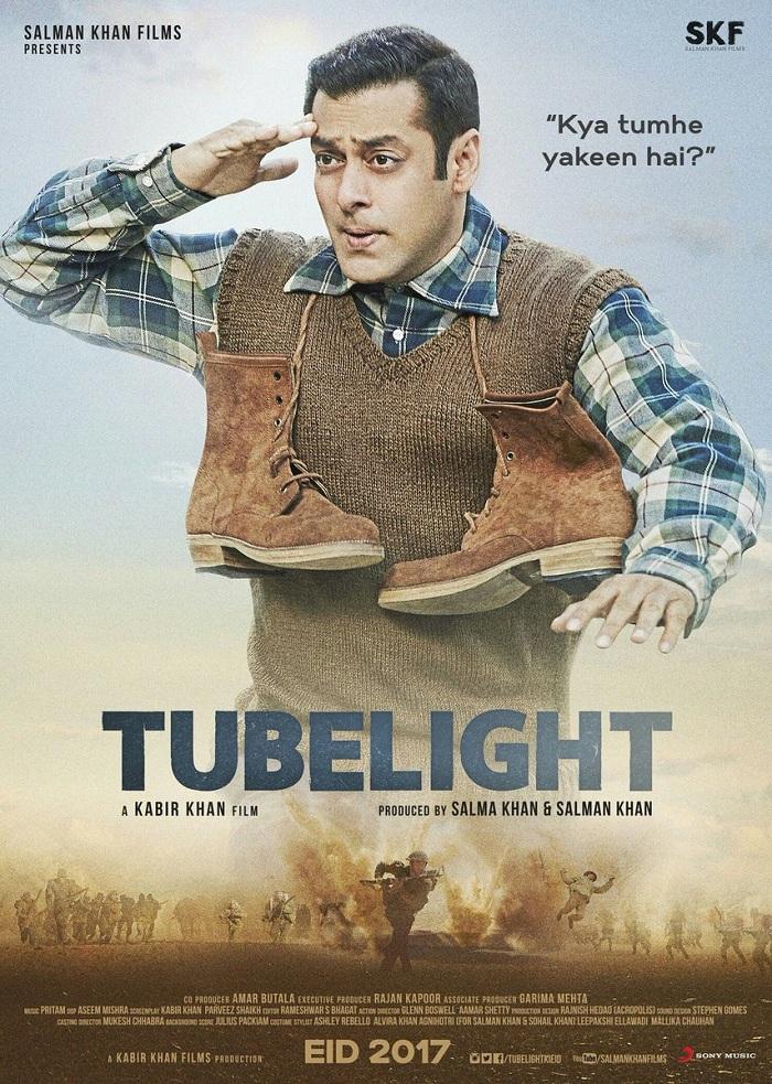 Tubelight Poster - Salman Khan
