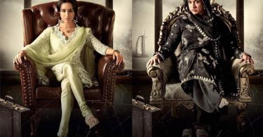 Two different looks of Shraddha Kapoor as Haseena