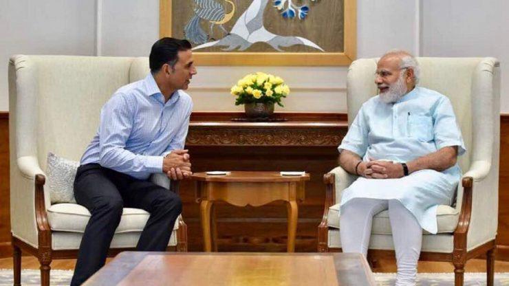 Akshay Kumar met Narendra Modi