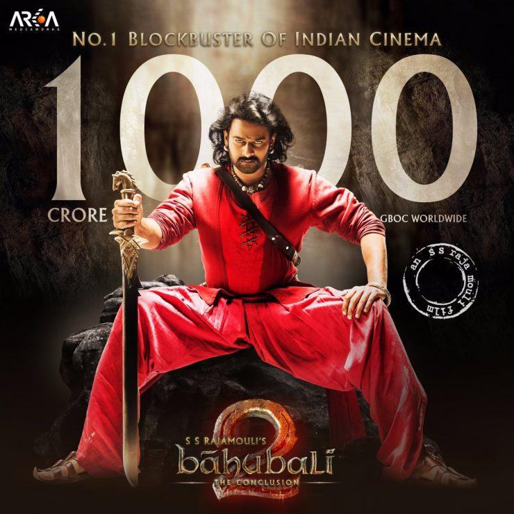 Bahubali 2 1000 crore