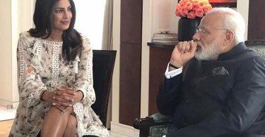 Priyanka Chopra meets Narendra Modi in Berlin