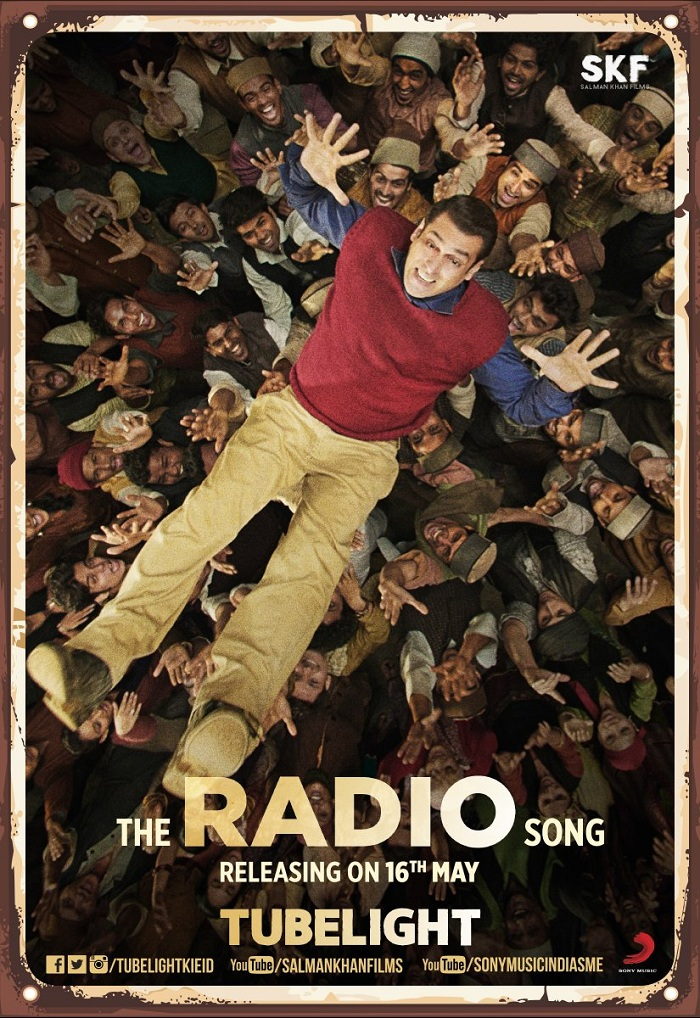 Radio Song Poster - Tubelight