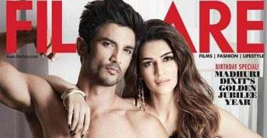Sushant Kriti Sanon Filmfare