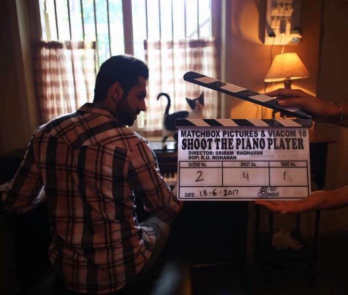 Ayushmann Khurana starts Sriram Raghavan's Shoot The Piano Player