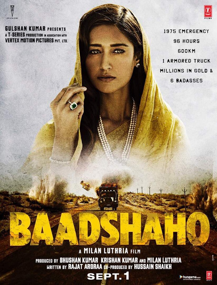Baadshaho Poster - Ileana D'Cruz
