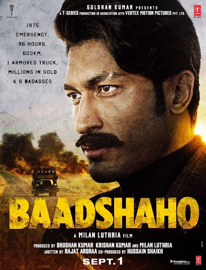Baadshaho Poster - Vidyut Jammwal
