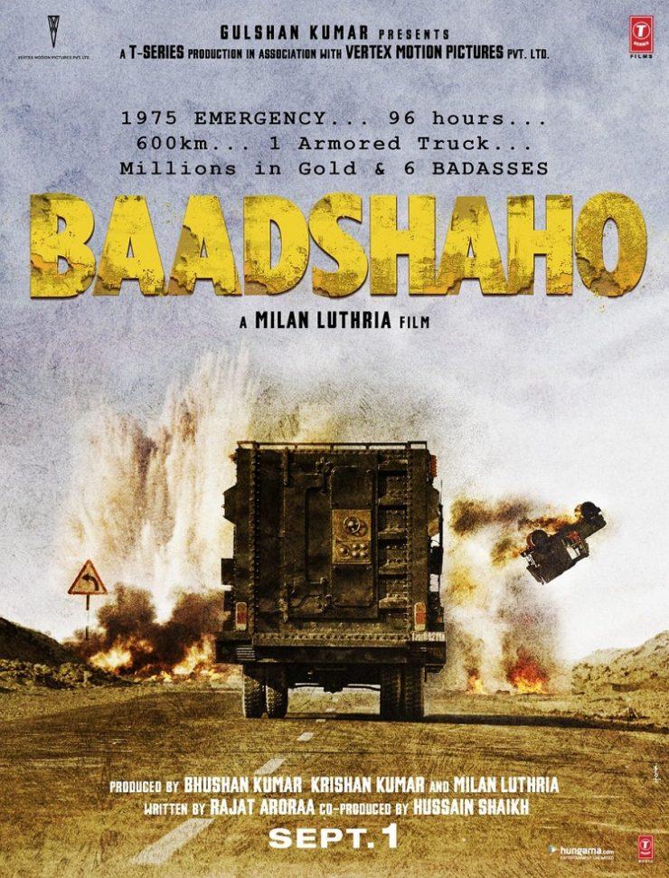 Baadshaho Teaser Poster
