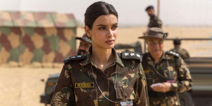 Diana Penty's Military Look in Parmanu
