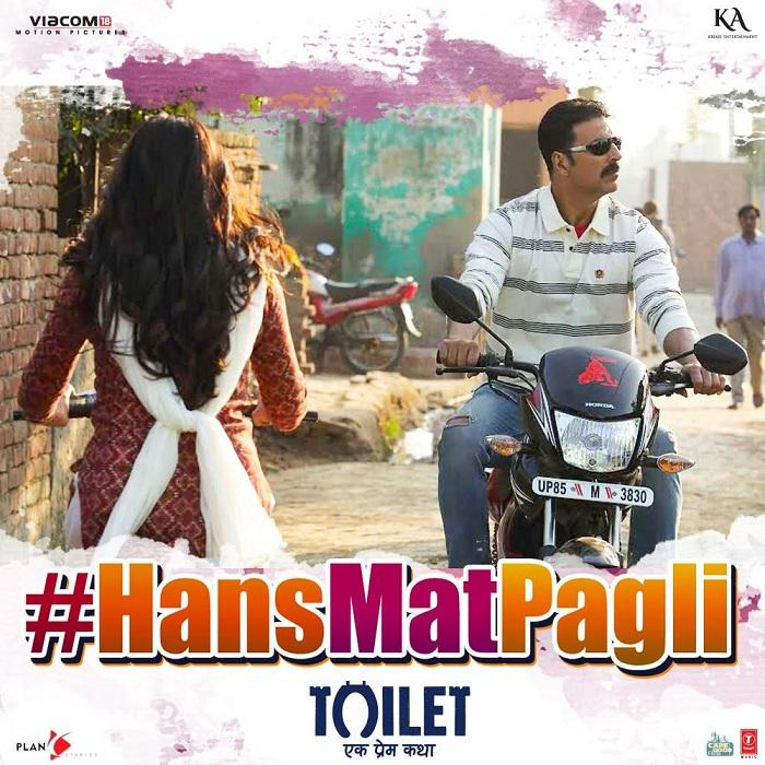 Hans Mat Pagli Song Poster - Toilet Ek Prem Katha
