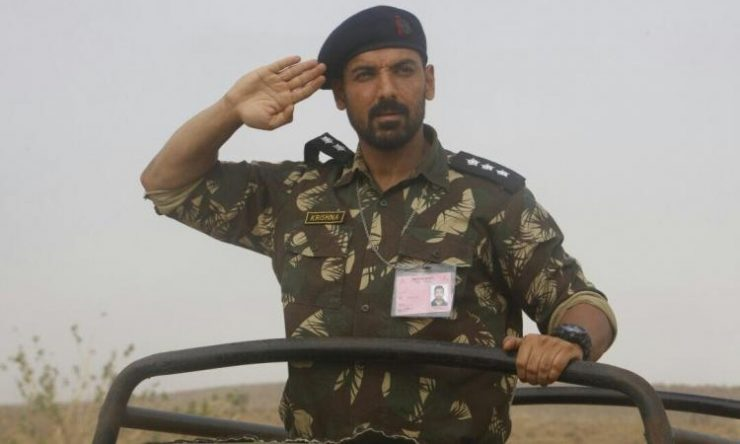 John Abraham's Military Look in Parmanu